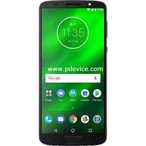 Motorola Moto G6 Plus Smartphone Full Specification