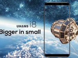 UHANS i8 Dual Rear Camera Phone