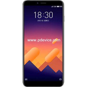 Meizu E3 Smartphone Full Specification