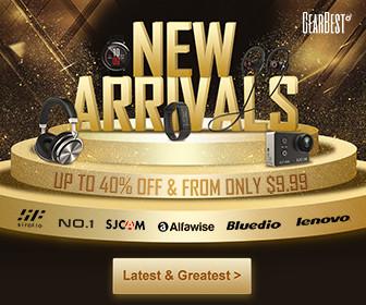 GearBest 2018 New Arrival Sale Online