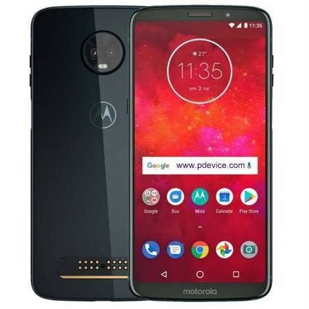 Motorola Moto Z3 Play Smartphone Full Specification