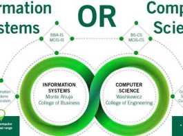 Online Courses for Information System and Computer Science
