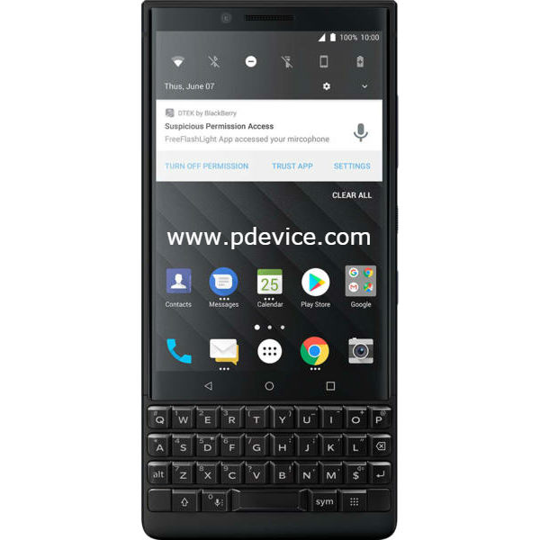 BlackBerry KEY 2 Smartphone Full Specification