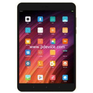 Xiaomi Mi Pad 4 LTE Tablet Full Specification