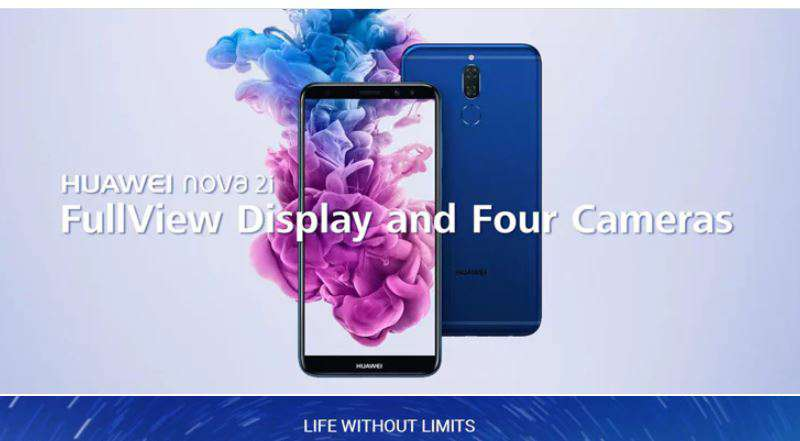 Buy Huawei Nova 2i Just for $199 with free shipping option