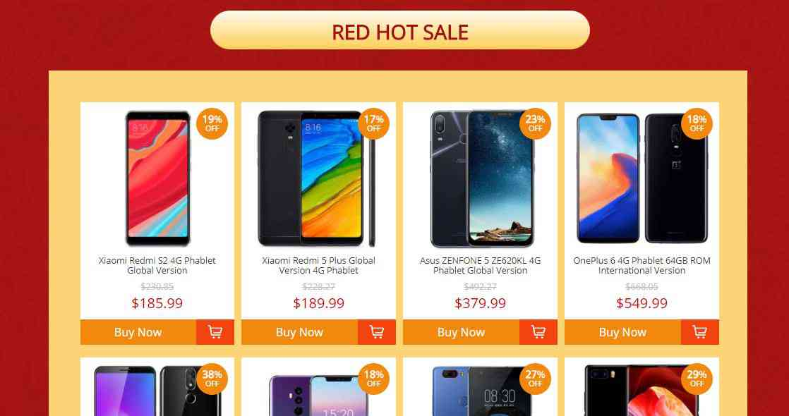 best chinese budget phones 2018 up to 30 flat discount top