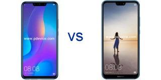 Huawei nova 3i vs Huawei nova 3e
