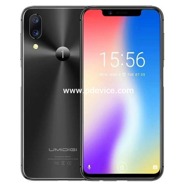UMiDIGI One Pro Smartphone Full Specification