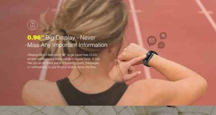 Alfawise Mini 3 Smart Bracelet GearBest Coupon Code