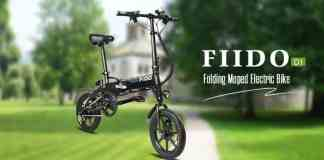 FIIDO D1 Folding Electric Bike Moped Bicycle E-bike Coupon Code