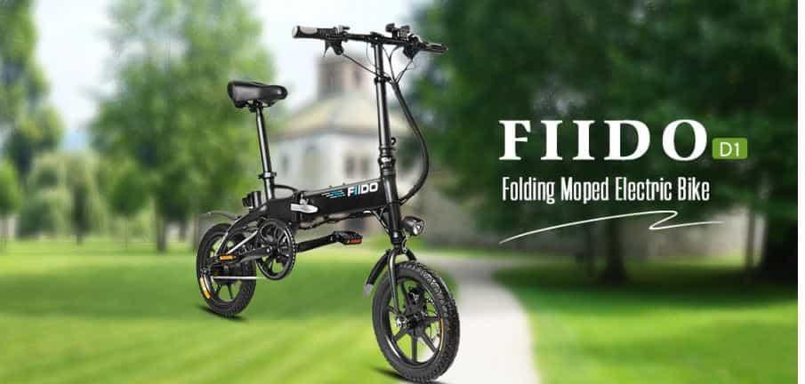 FIIDO D1 Folding Electric Bike Moped Bicycle E-bike Coupon Code