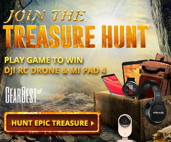 GearBest Epic Treasure Hunt Sale- Big Discounts, Win Free Gifts