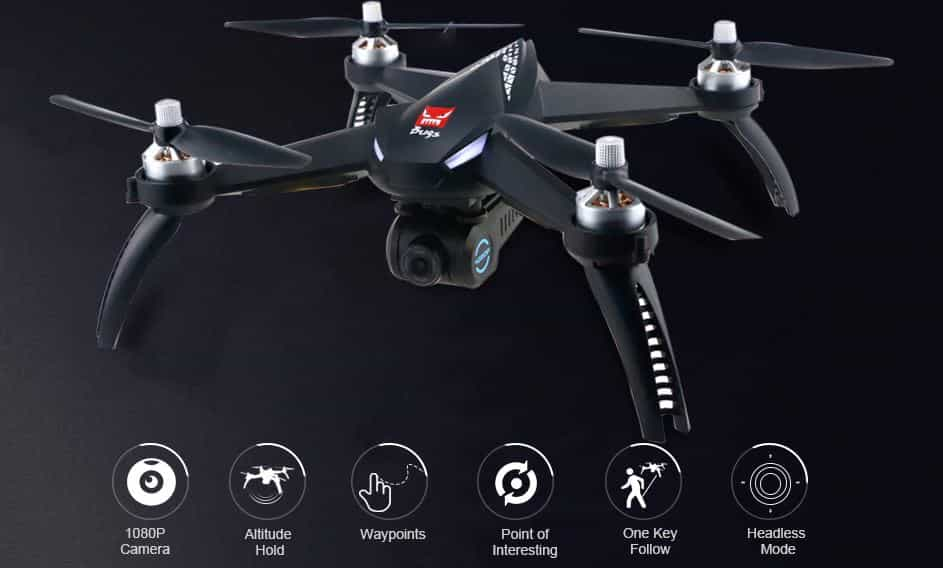 MJX Bugs 5W B5W WiFi FPV RC Drone $33 GearBest Promo Code