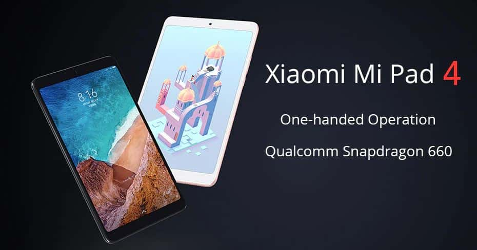 Xiaomi Mi Pad 4 Tablet PC $15 Coupon Code GearBest