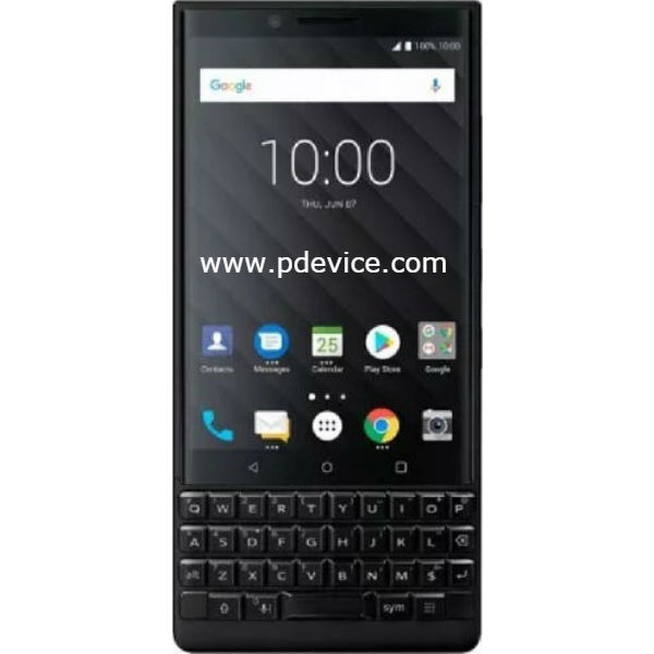 BlackBerry Key2 LE Smartphone Full Specification