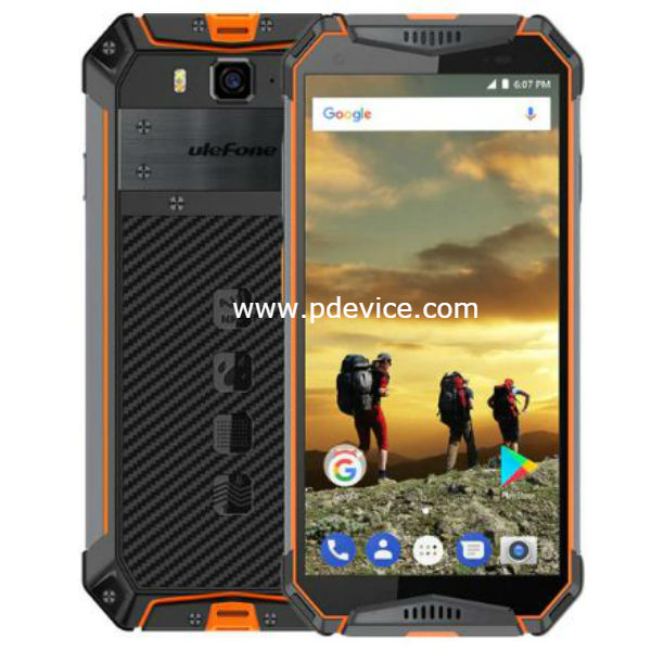 Ulefone Armor 3 Smartphone Full Specification