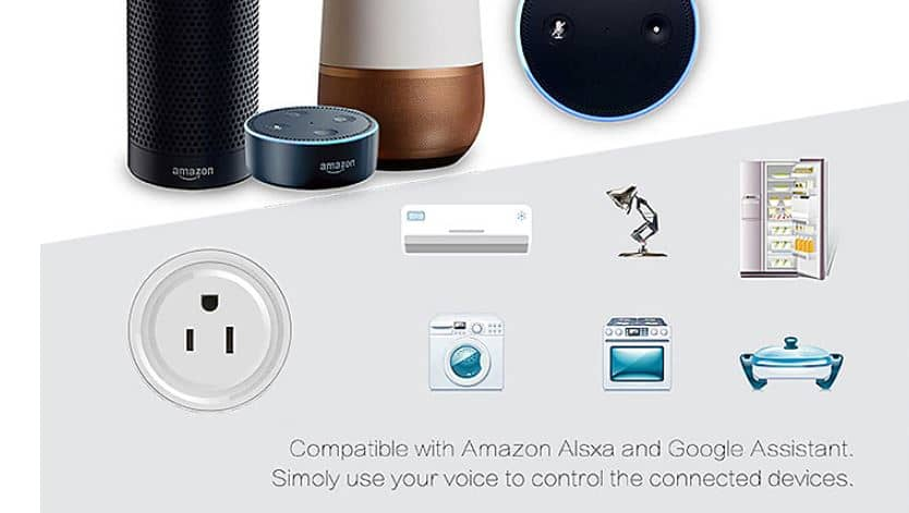 WETO W-T04 US WiFi Smart Plug and WETO Smart Wi-Fi Plug with 55% Discount Price