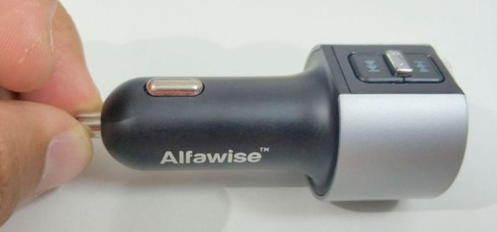 Alfawise Dual USB Ports Bluetooth 4.2 Car Charger FM Transmitter Hands-On Review