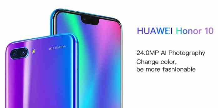 Huawei Honor 10 $10 Coupon Code from GearBest