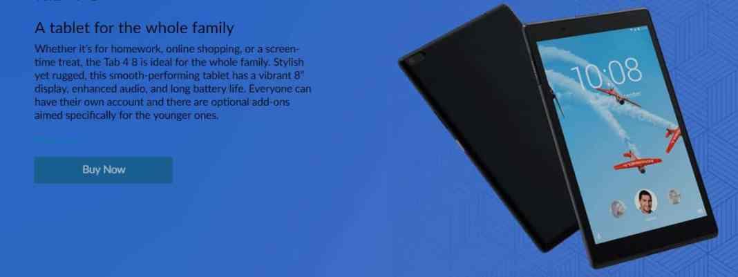 Lenovo TAB4 TB - 8504F $10 GearBest Coupon