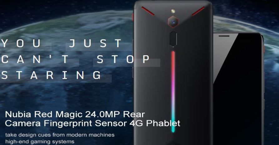 Nubia Red Magic 4G Phablet 8GB RAM Smartphone for $534.52, get flat $28.13 coupon Code