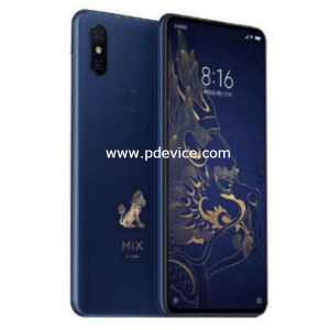 Xiaomi Mi MIX 3 Palace Museum Edition Smartphone Full Specification