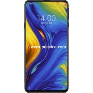 Xiaomi Mi Mix 3 Smartphone Full Specification