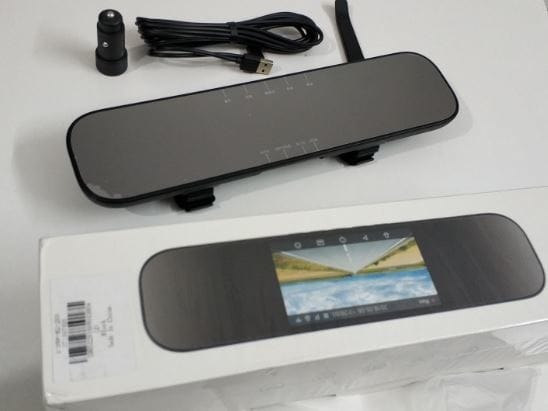 Xiaomi Mijia 5 Inch IPS Screen Smart Rearview Mirror Car DVR Black Review and Flash Sale