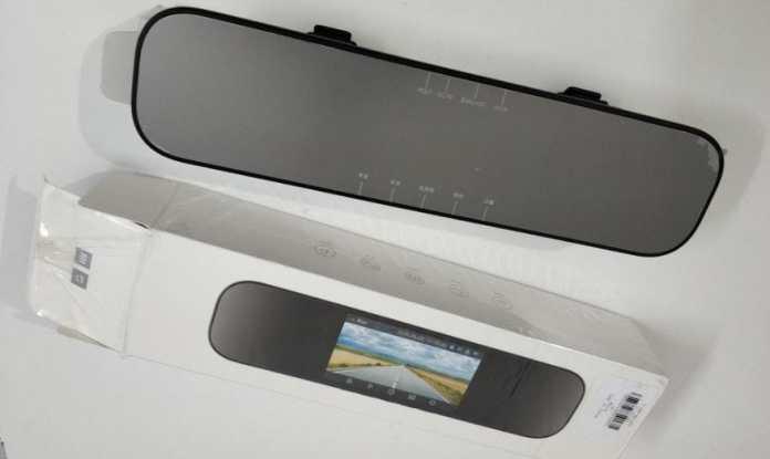 Xiaomi Mijia 5 inch Smart Rearview Mirror Car DVR Complete Details