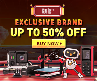 GearBest Black Friday Exclusive Brand Sale 50% Discount Online Global Delivery