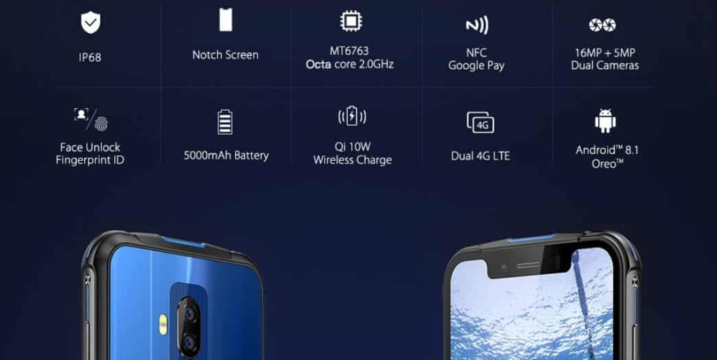 Ulefone Armor 5 with $9 GearBest Coupon Code