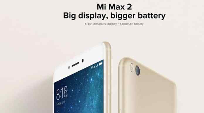 Xiaomi Mi Max 2 with $10 Promo Code from GearBest