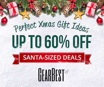GearBest Christmas 2018 Sales, Deals - Up to 74% Discount