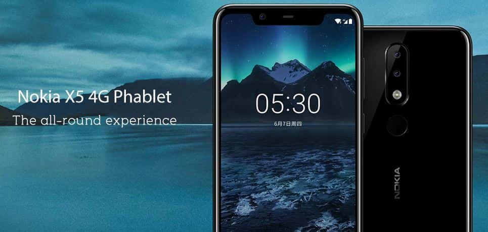 Nokia X5 with $10 Promo Code with Global Shipping