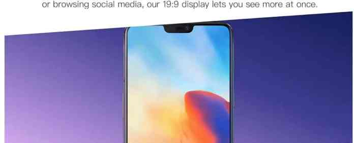OnePlus 6 A6000 8GB RAM Phone Just for $429 with free Shipping