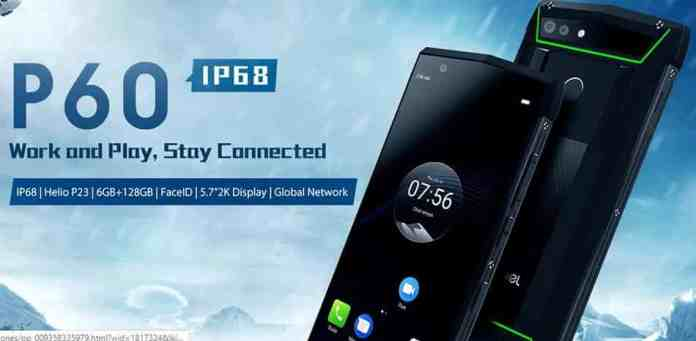 Poptel P60 Rugged Smartphone with $10 GearBest Coupon Code