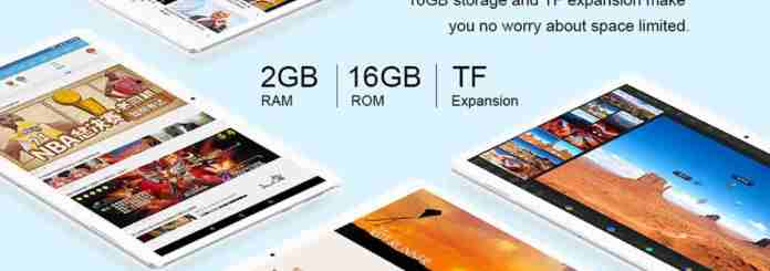 Teclast A10H with $10 Promo Code GearBest