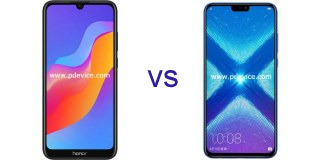 Huawei Honor Play 8A vs Honor 8X