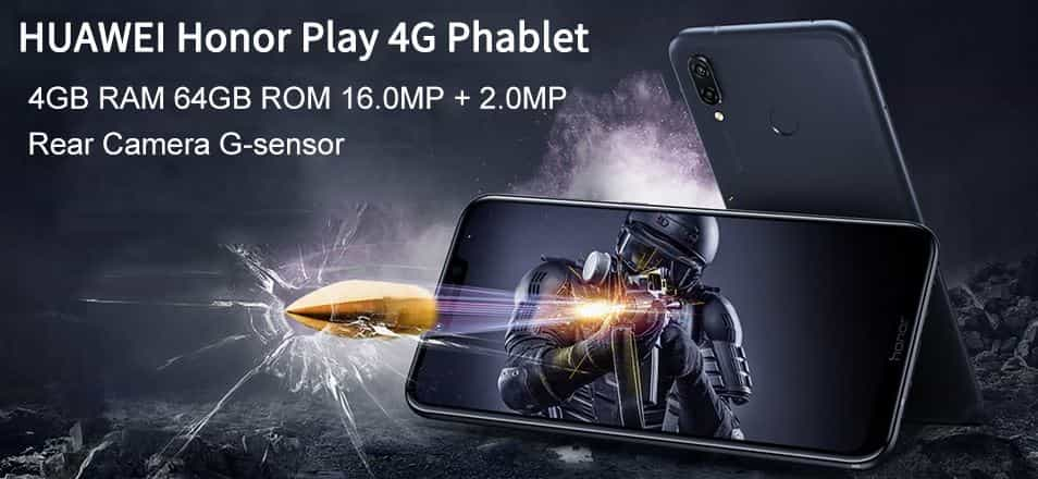 Huawei Honor Play GearBest $54 Promo Code for Global Users