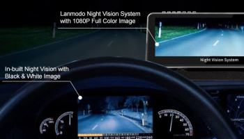 Lanmodo 1080P Automotive Night Vision System with $50 Promo Code for Global Users