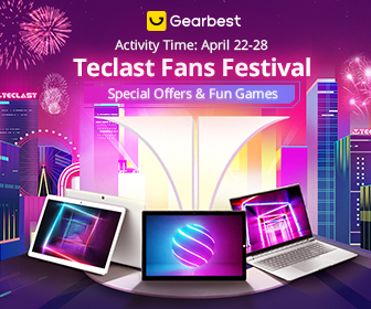 GearBest Teclast Big Sale Live - Huge Discount