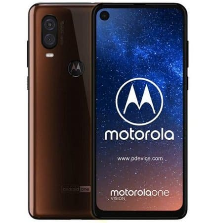 Motorola One Vision Smartphone Full Specification