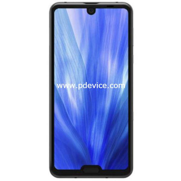 Sharp Aquos R3 Smartphone Full Specification