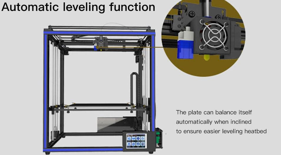 Tronxy X5SA High Accuracy Big Power DIY 3D Printer with EU, US Plug option, $20 Gearbest Promo Code