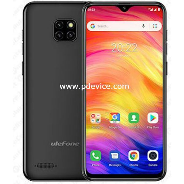 Ulefone Note 7P Smartphone Full Specification