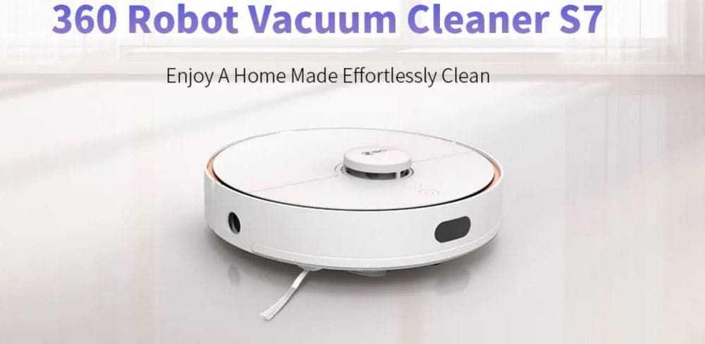 360 S7 Laser Navigation Robot Vacuum Cleaner with $60 Promo Code From Gearbest