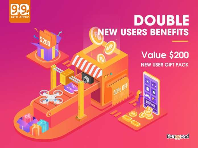 Banggood largest sales event Anniversary Sale 2019 Online