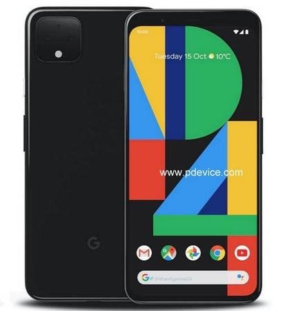 Google Pixel 4 Smartphone Full Specification