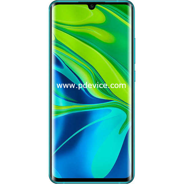 Xiaomi Mi Note 10 Smartphone Full Specification