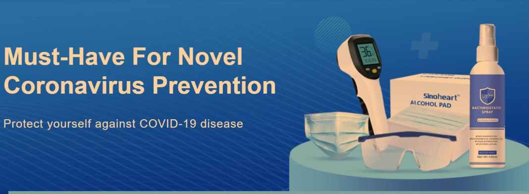 Coronavirus disease Infection prevention and control - List of All Products you should buy